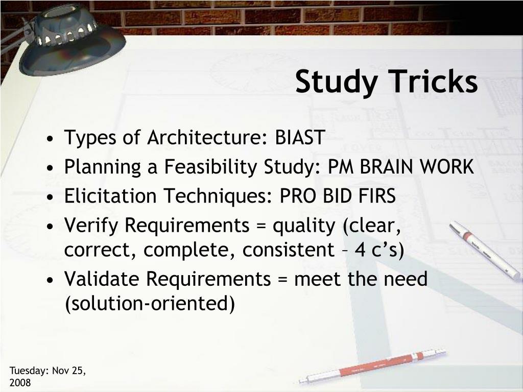 Study Tricks