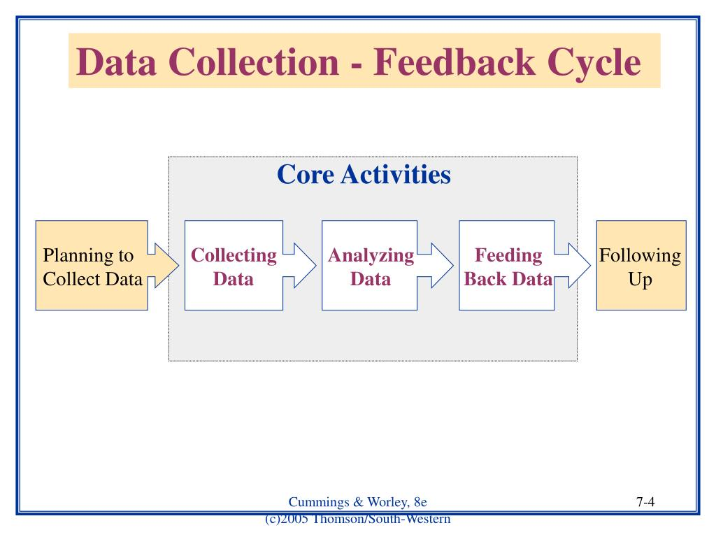 Data Collection - Feedback Cycle