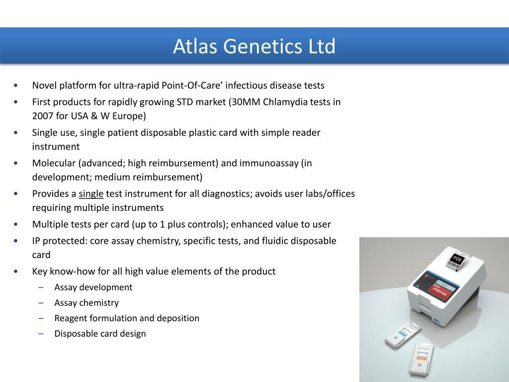 Atlas Genetics Ltd