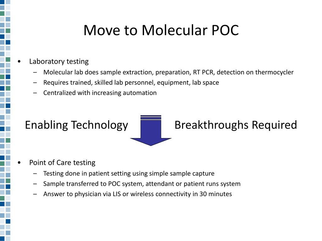 Move to Molecular POC