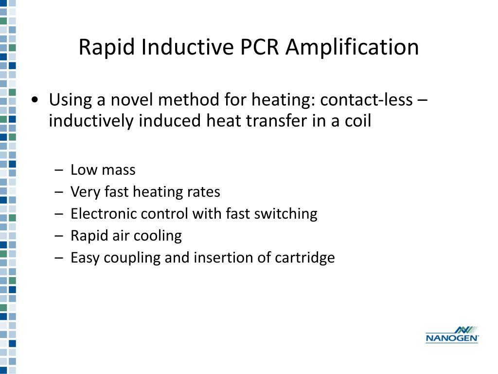 Rapid Inductive PCR Amplification