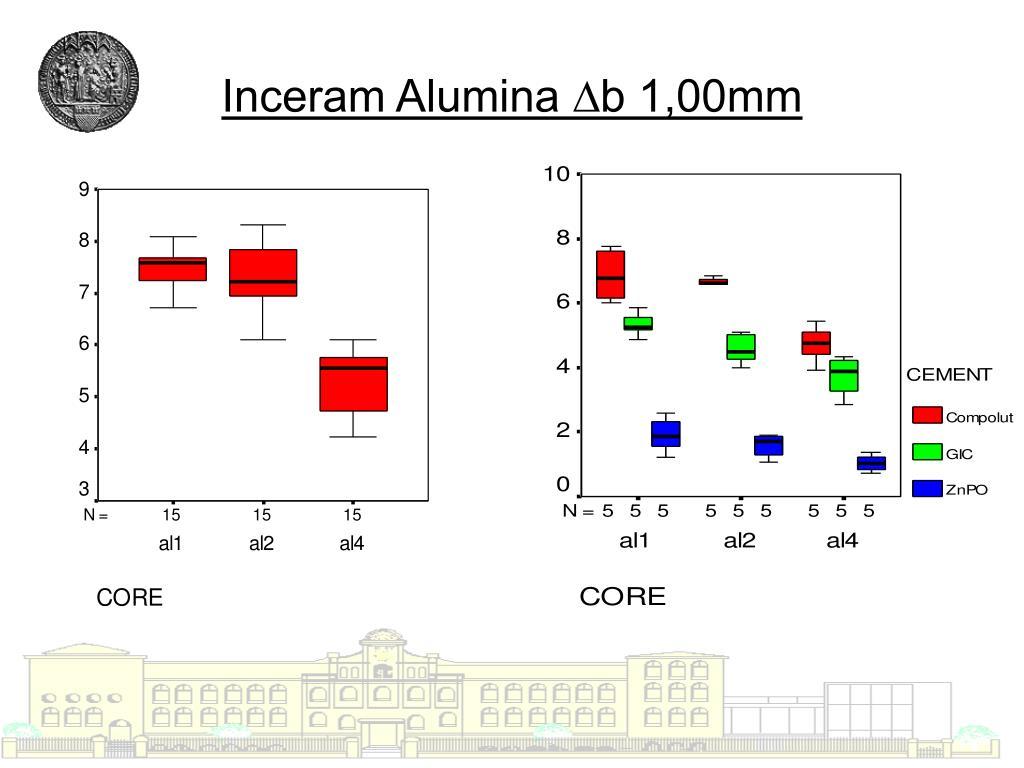 Inceram Alumina ∆b 1,00mm