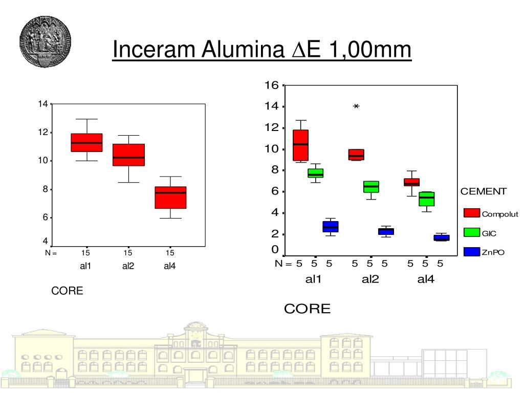 Inceram Alumina ∆E 1,00mm