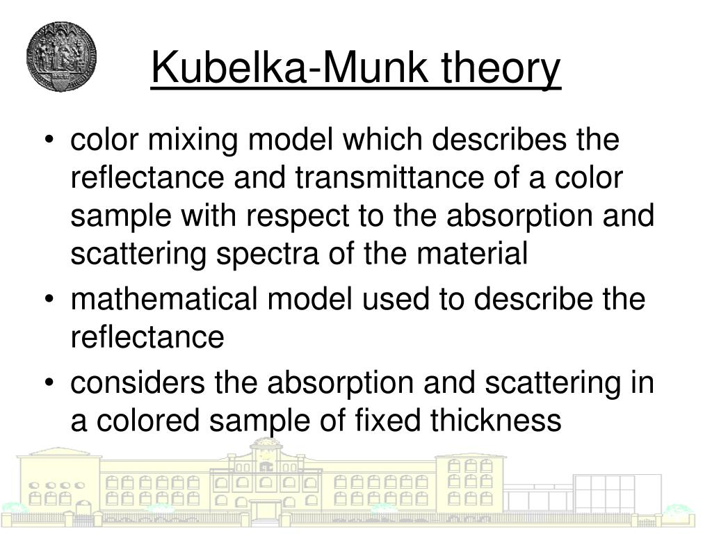 Kubelka-Munk theory