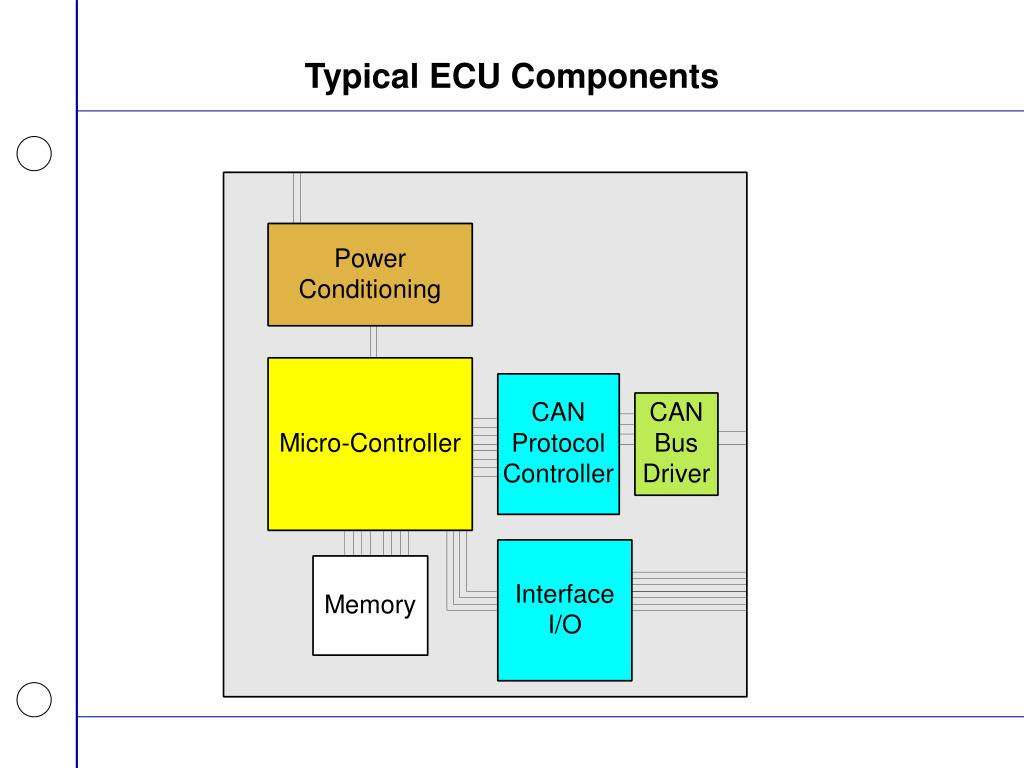 Typical ECU Components