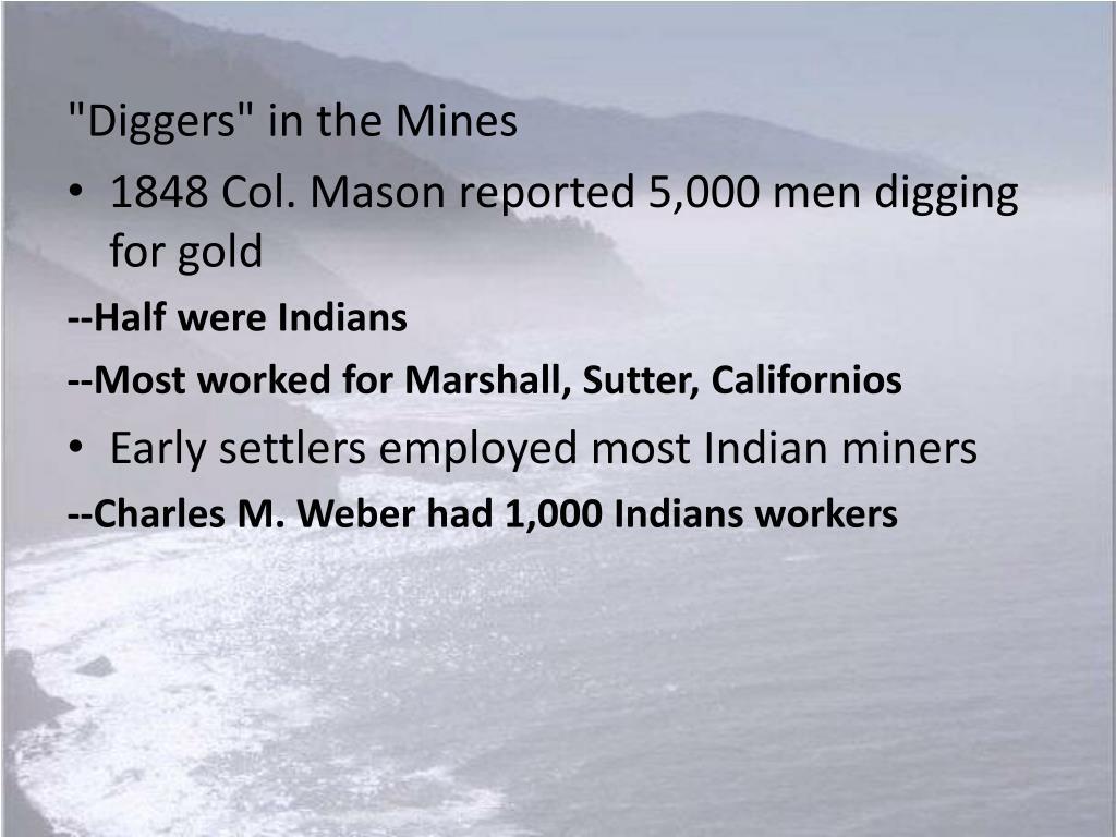 """Diggers"" in the Mines"