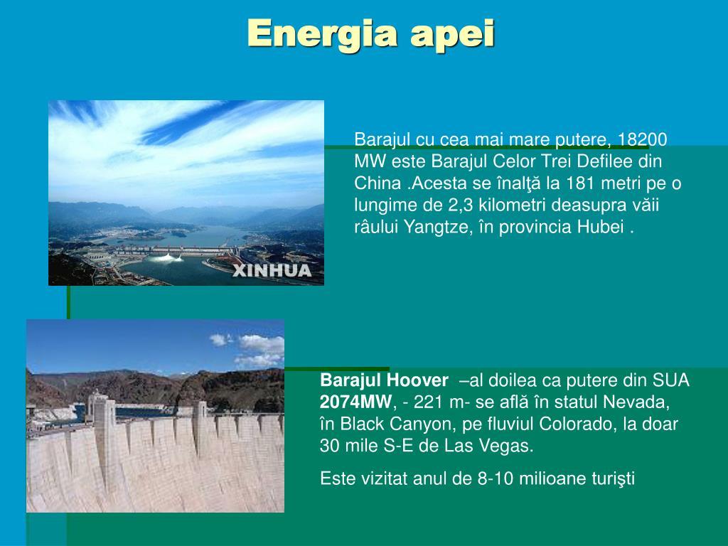 Energia apei
