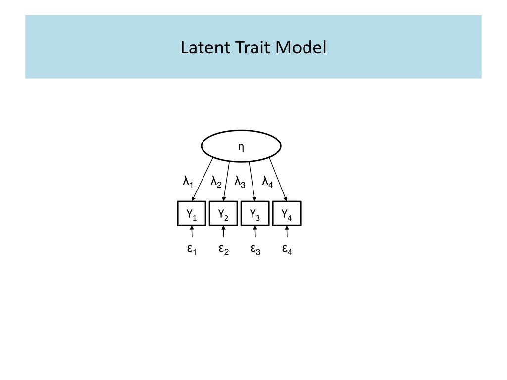 Latent Trait Model