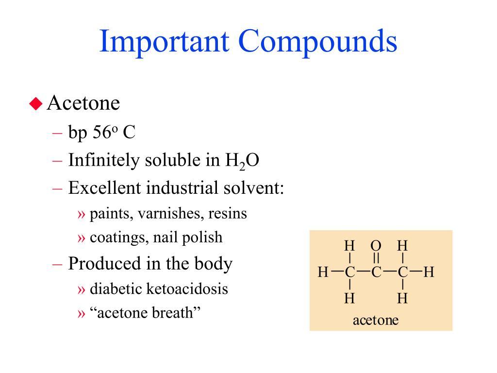 Important Compounds