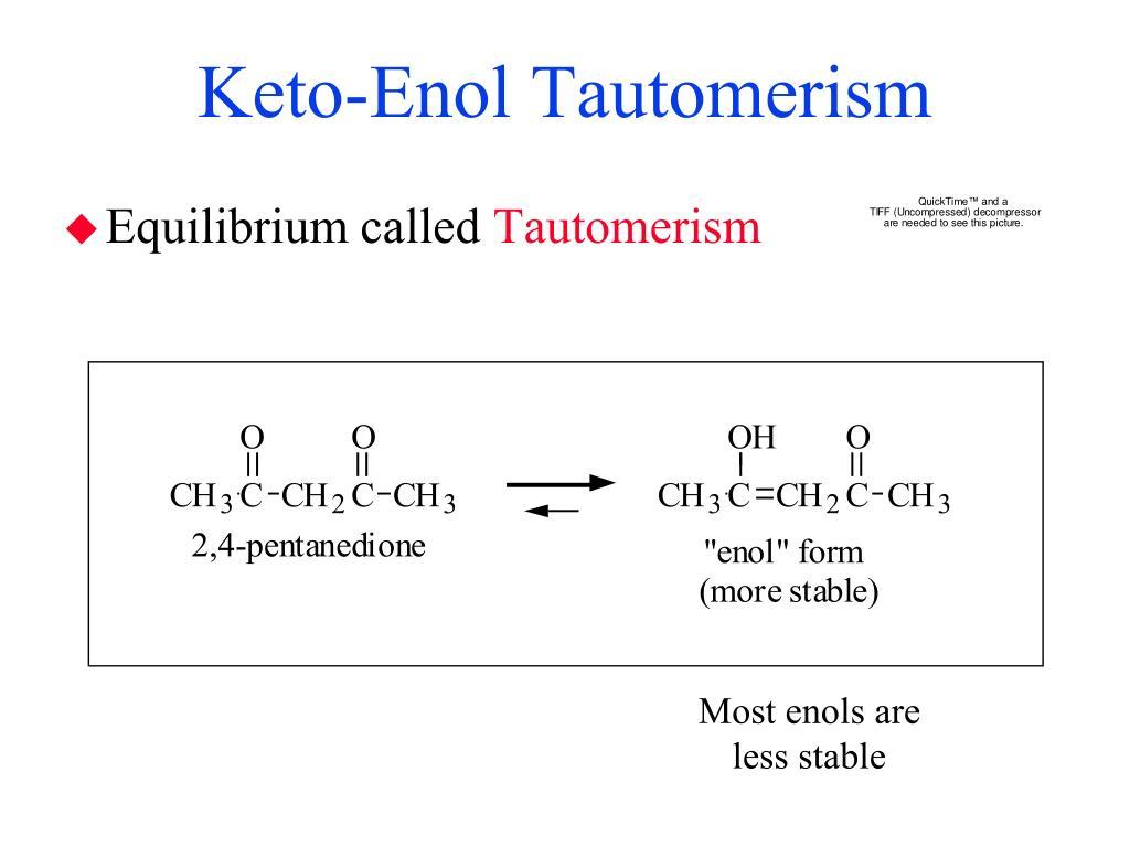 Keto-Enol Tautomerism