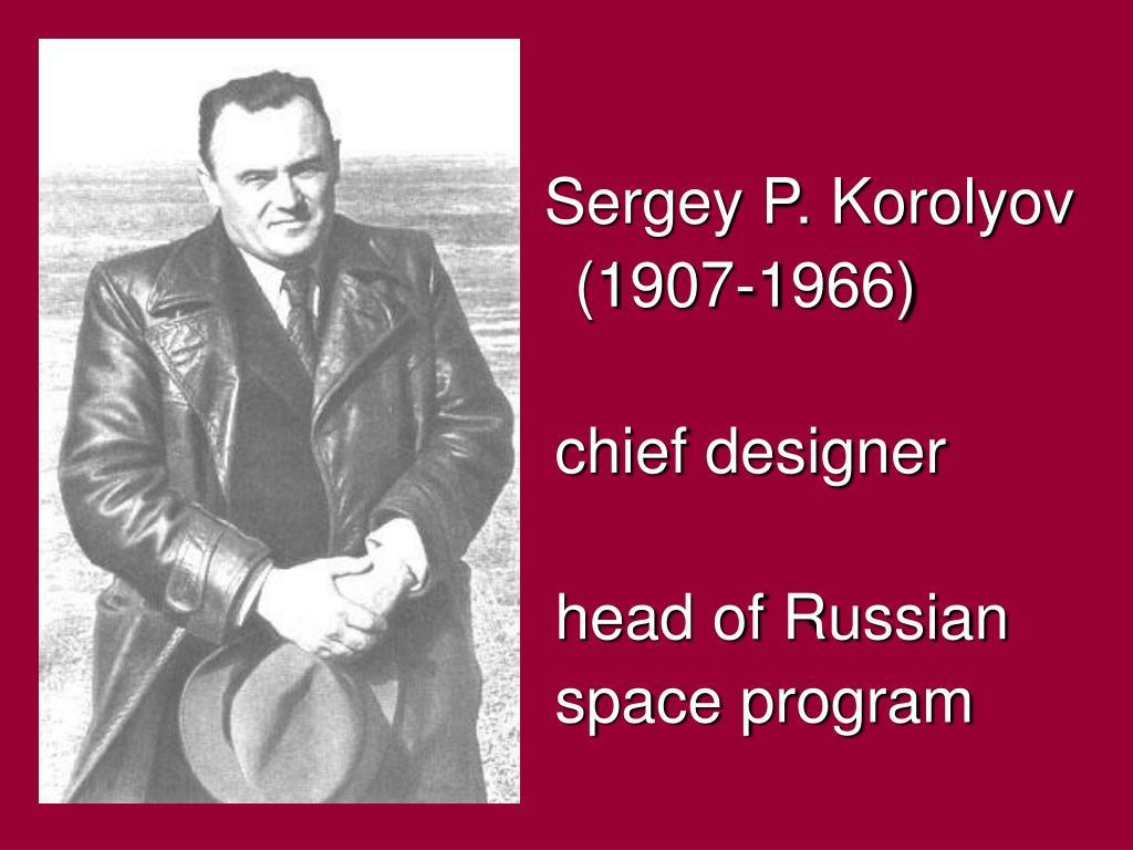 Sergey P. Korolyov