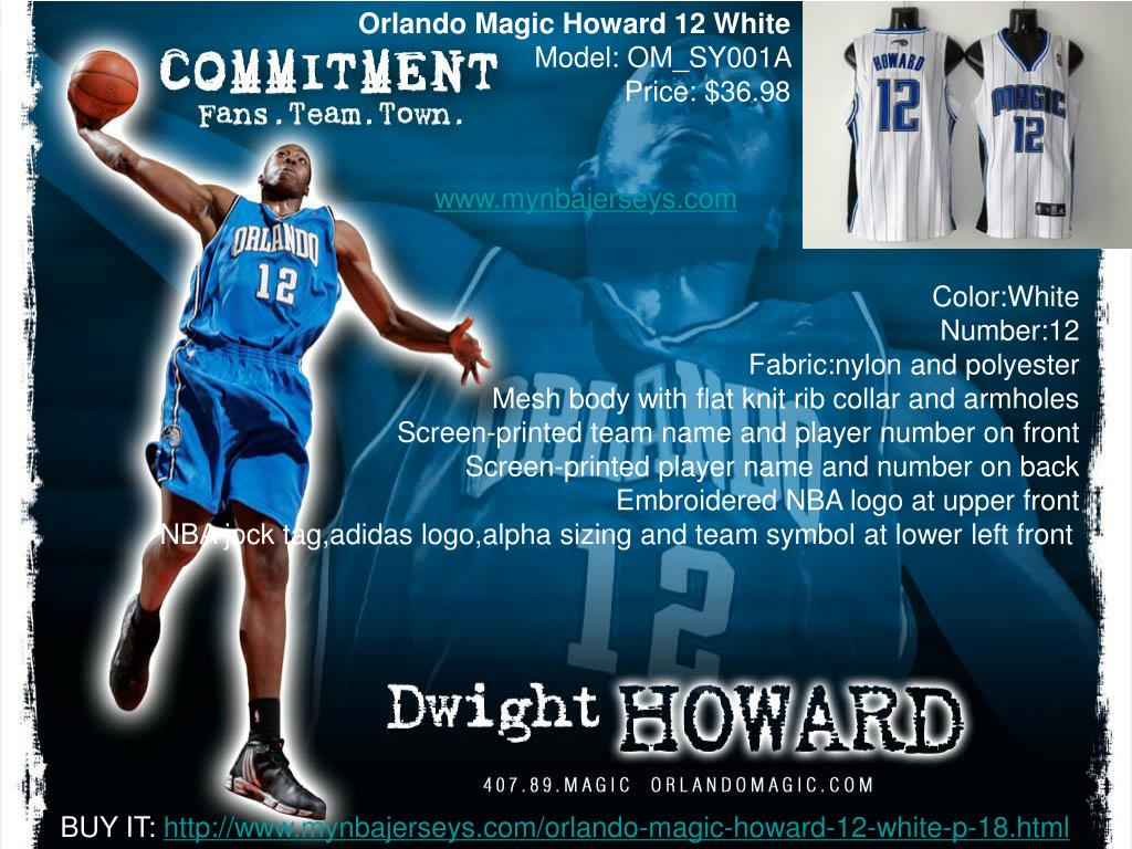 Orlando Magic Howard 12 White