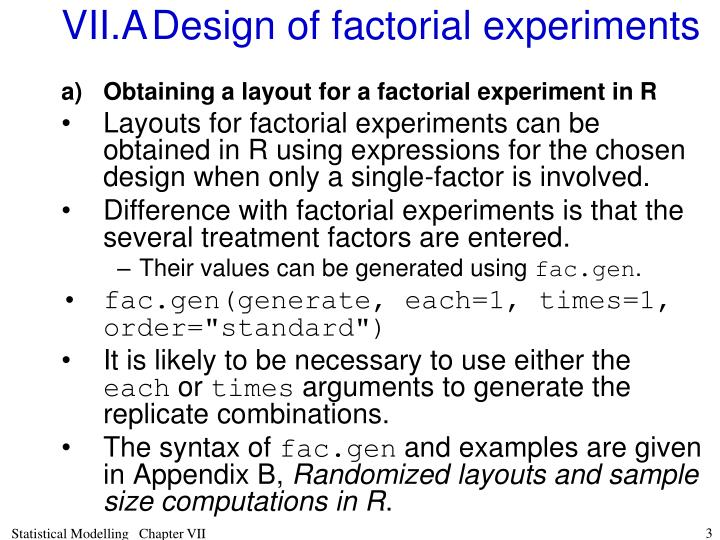 Vii a design of factorial experiments l.jpg