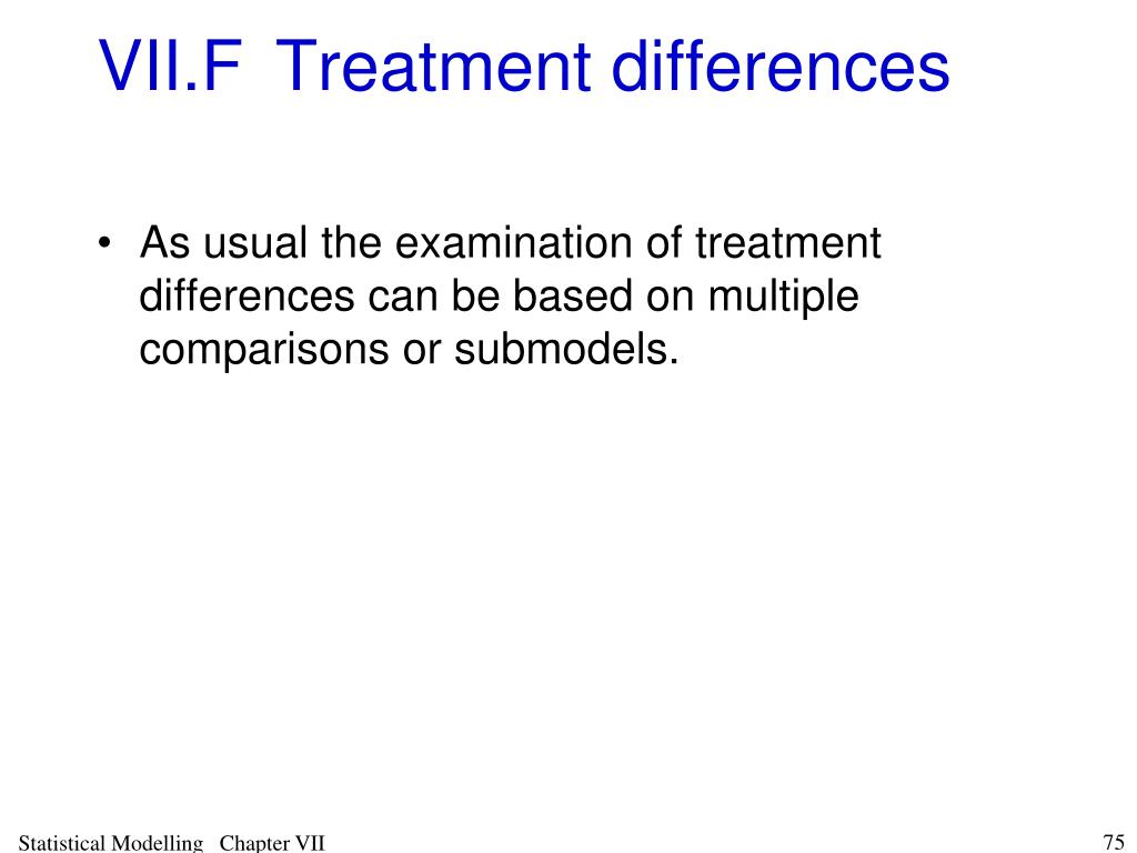 VII.FTreatment differences