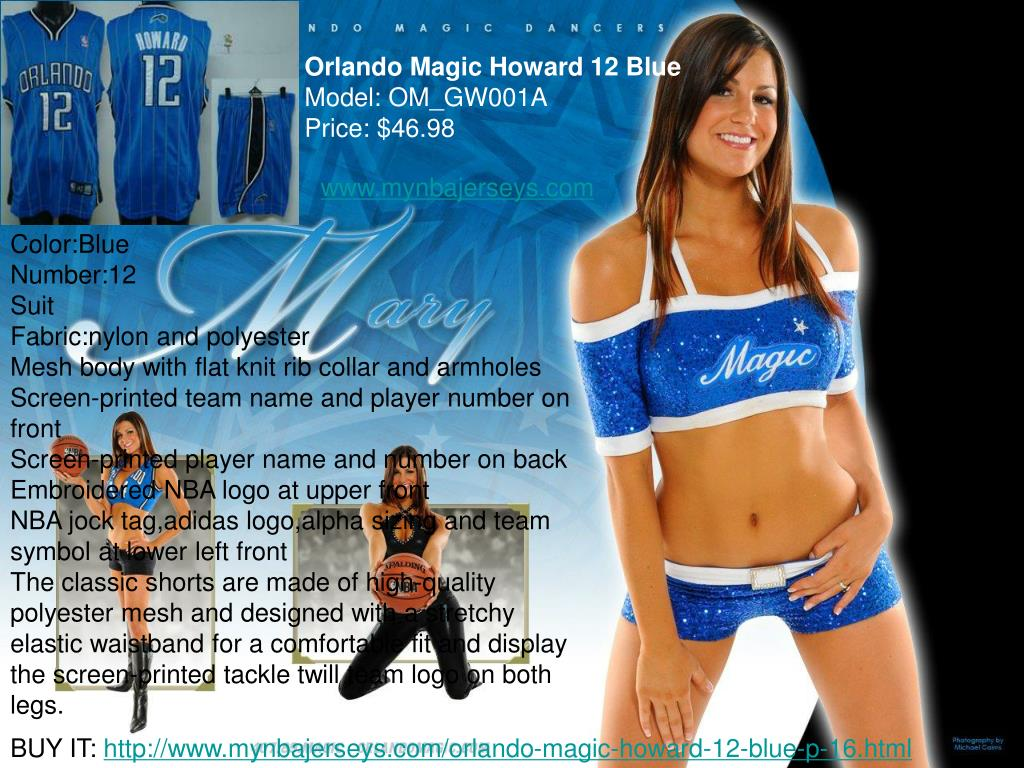 Orlando Magic Howard 12 Blue