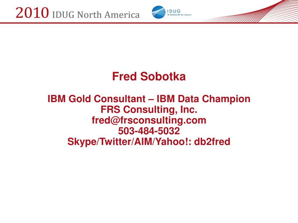 Fred Sobotka
