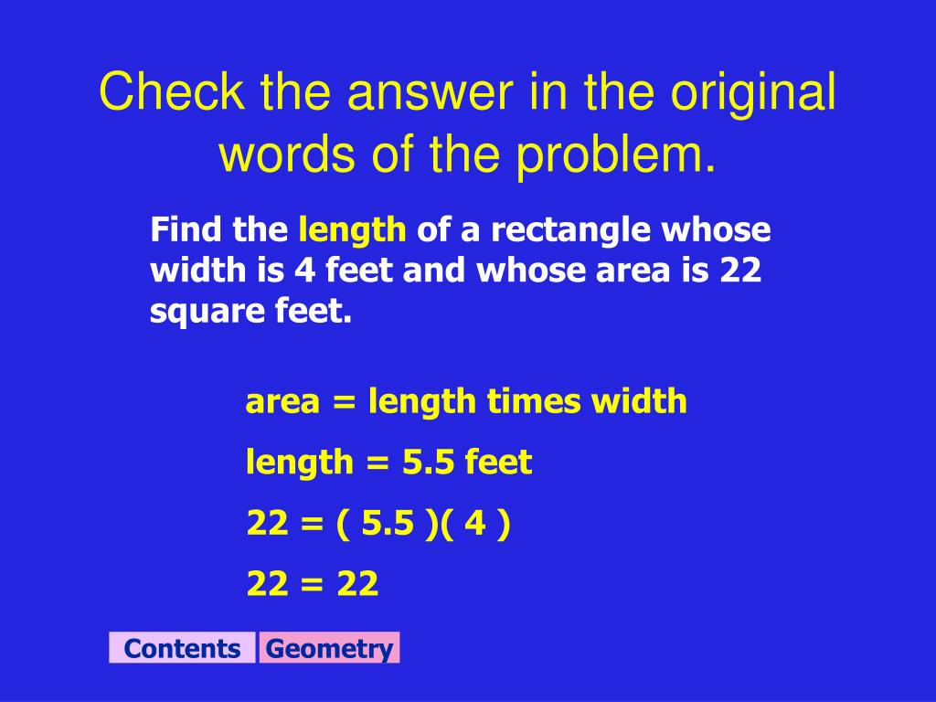 Check the answer in the original words of the problem.