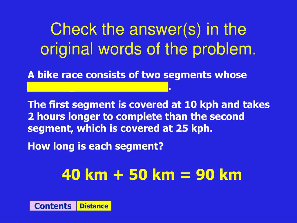 Check the answer(s) in the original words of the problem.