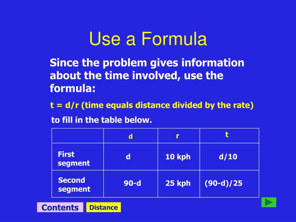 Use a Formula