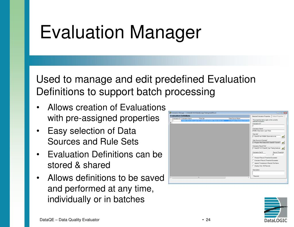 Evaluation Manager