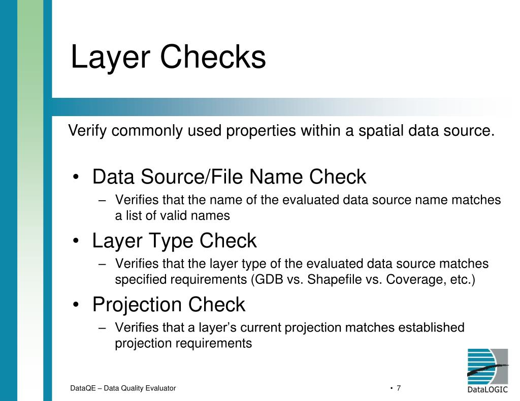 Layer Checks