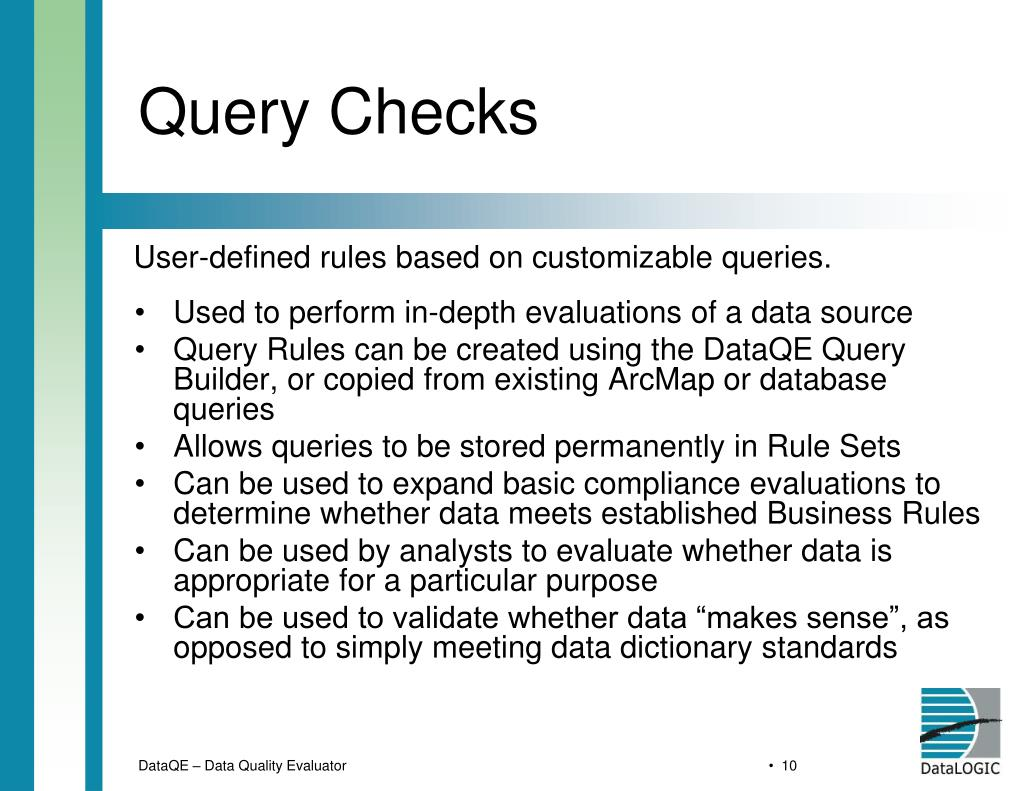 Query Checks