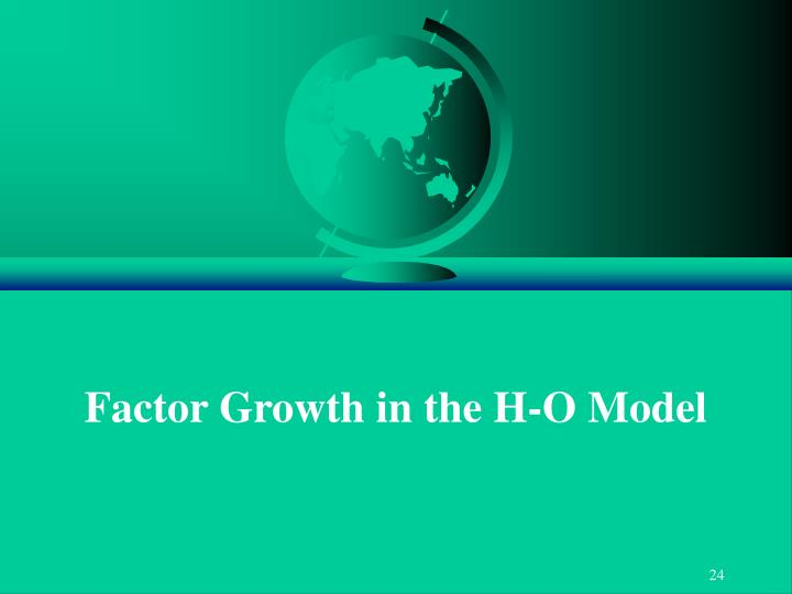 Factor Growth in the H-O Model