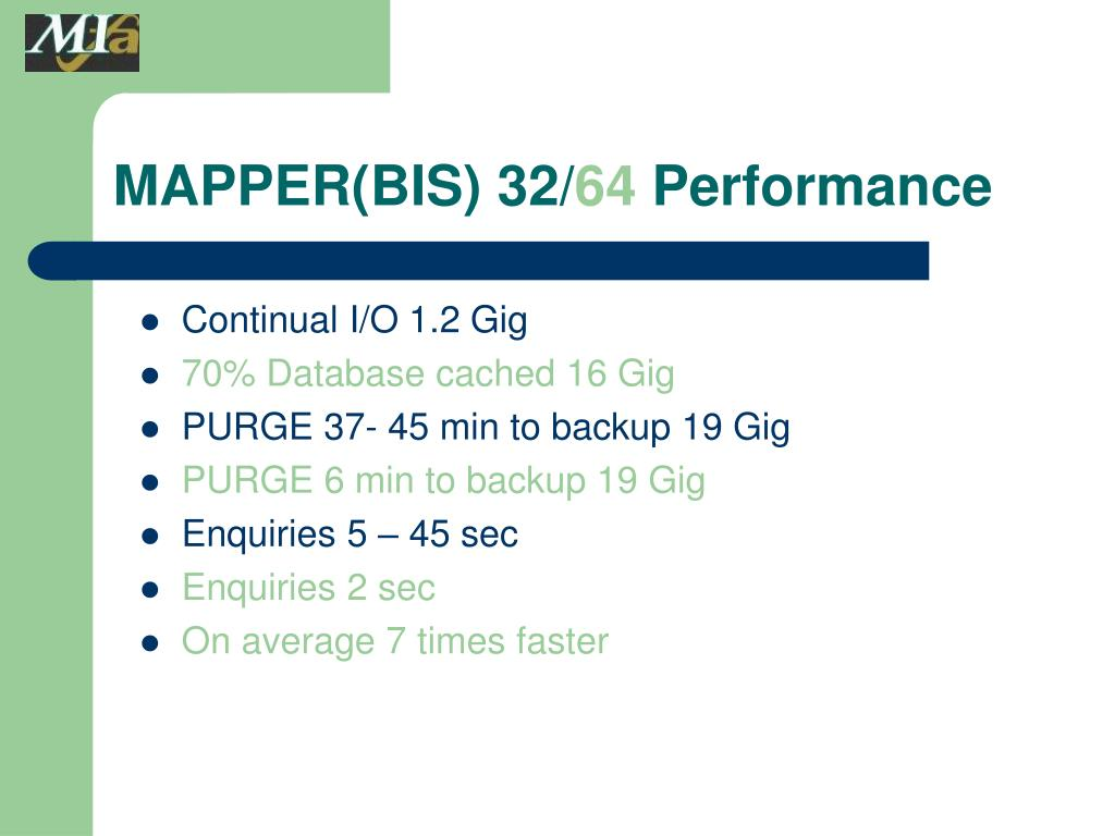 MAPPER(BIS) 32/