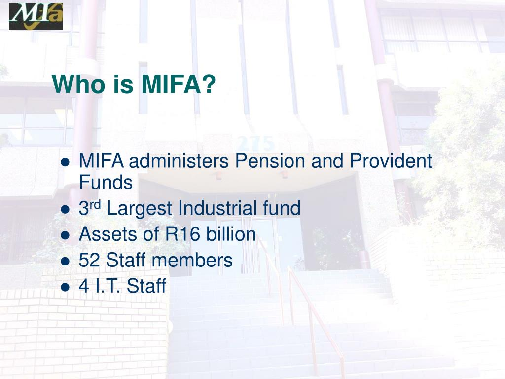 Who is MIFA?