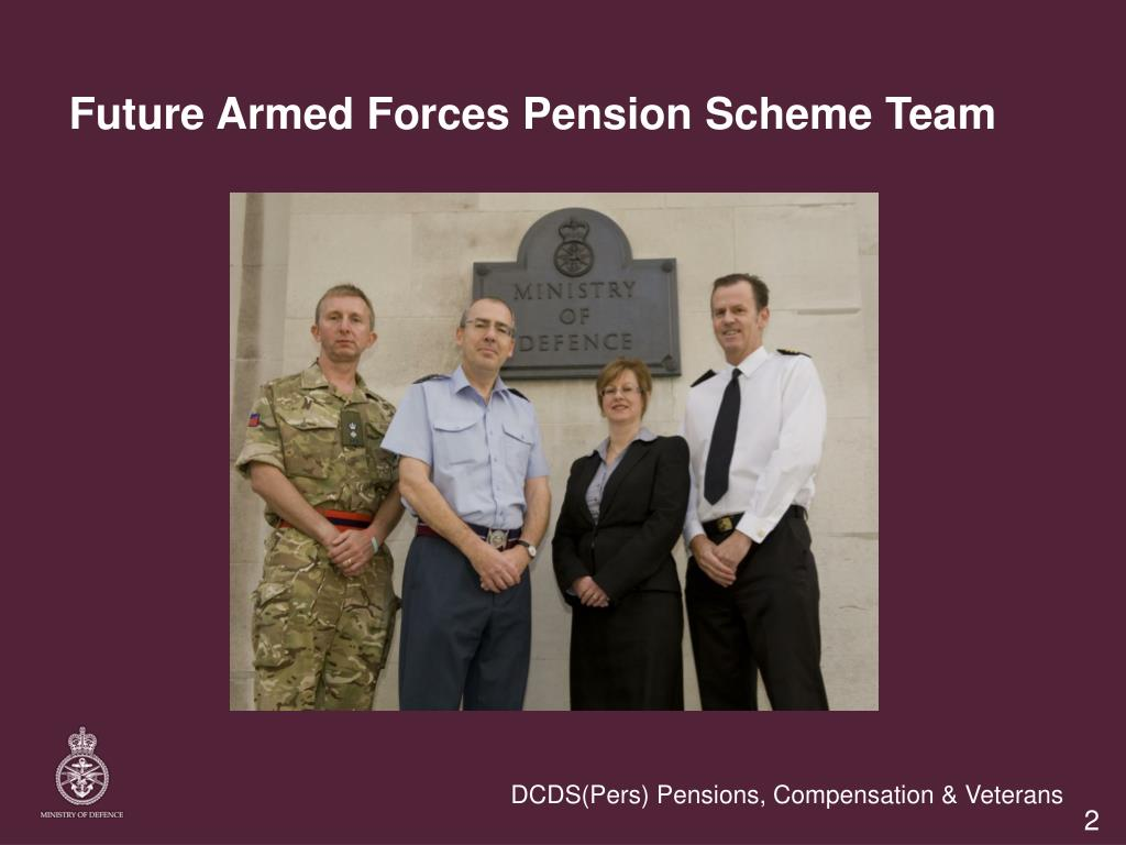 Future Armed Forces Pension Scheme Team