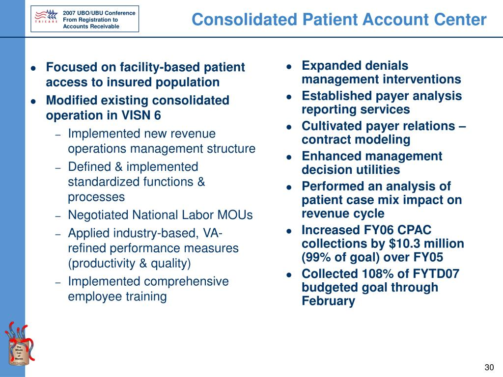 Focused on facility-based patient access to insured population