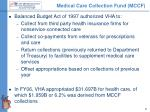 medical care collection fund mccf