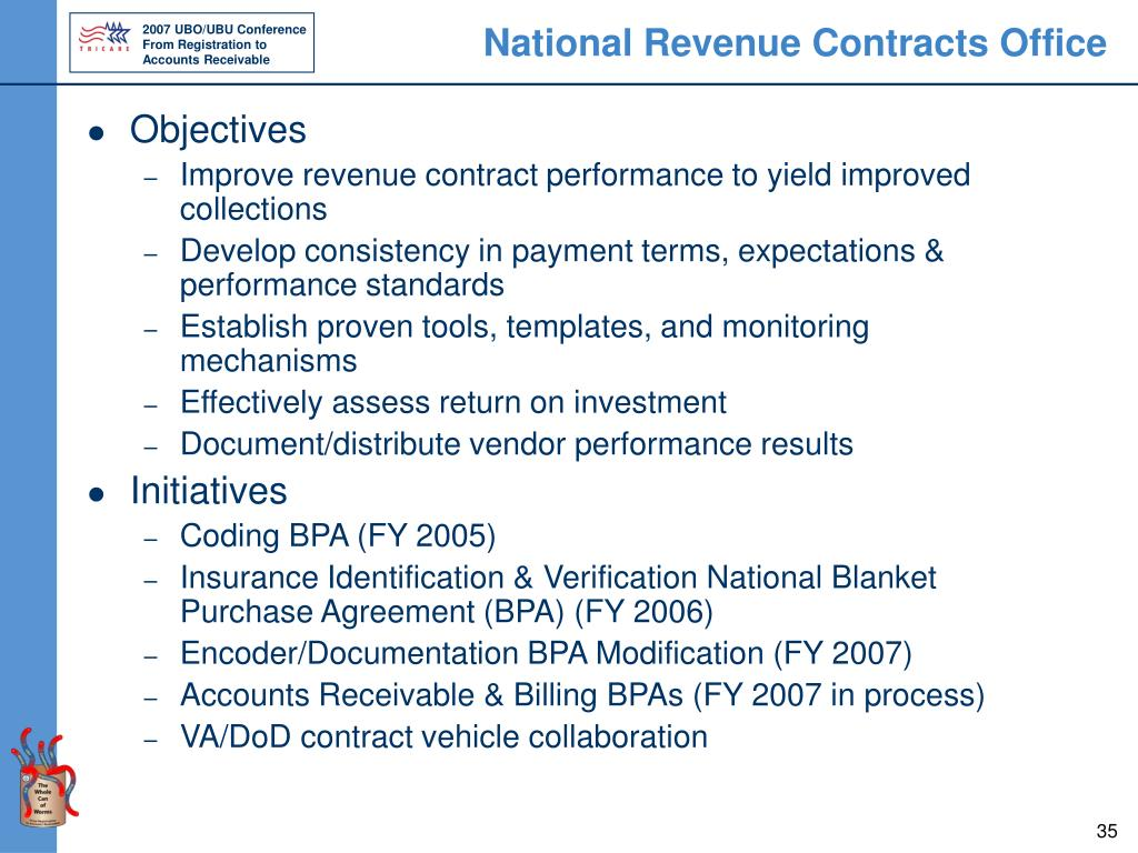 National Revenue Contracts Office