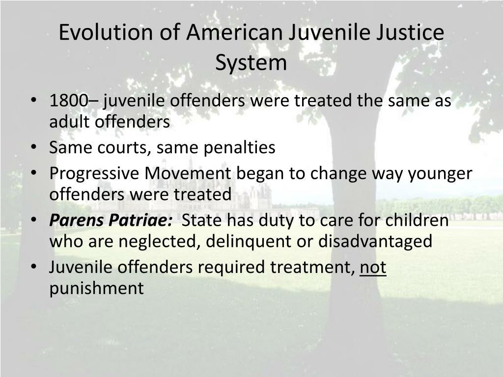 disadvantages of juvenile system