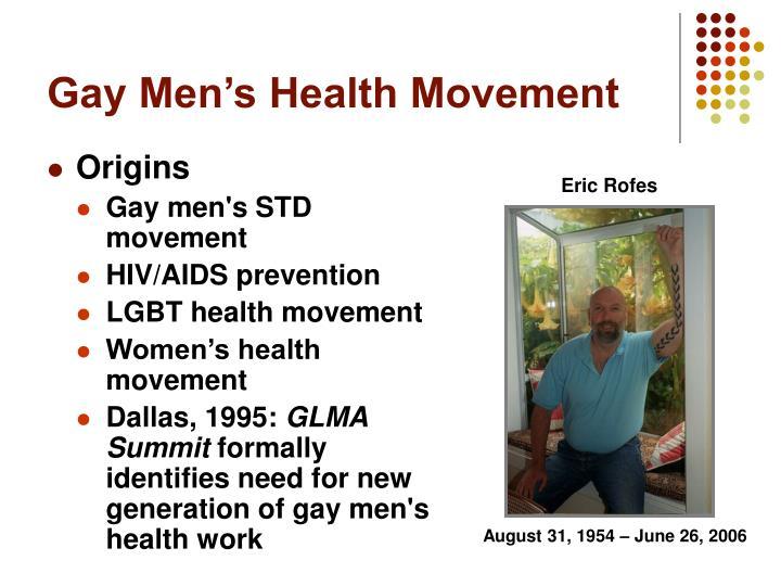 Gay Men's Health Movement