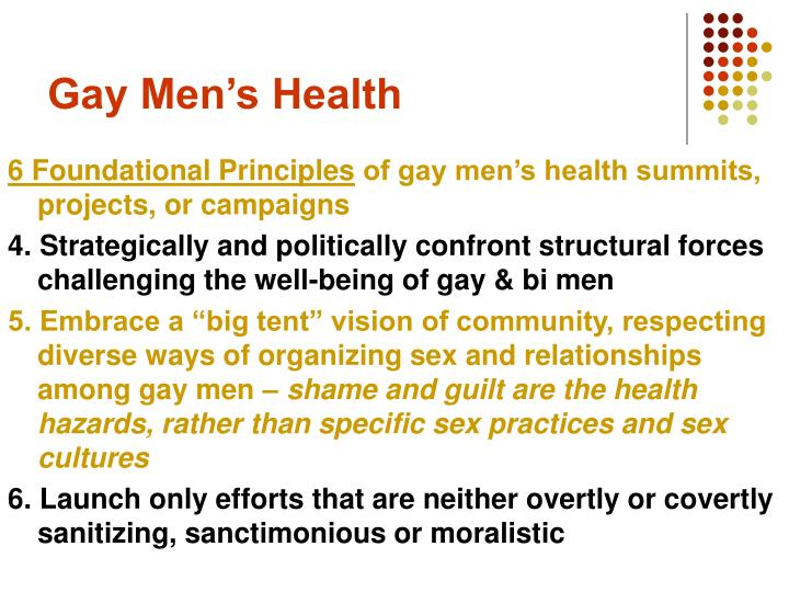 Gay Men's Health