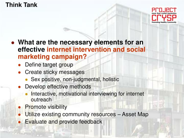 What are the necessary elements for an effective