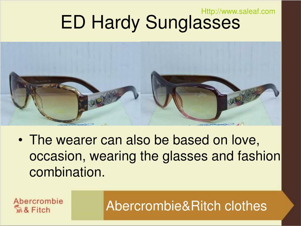 The wearer can also be based on love, occasion, wearing the glasses and fashion combination.