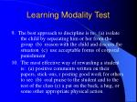 learning modality test17