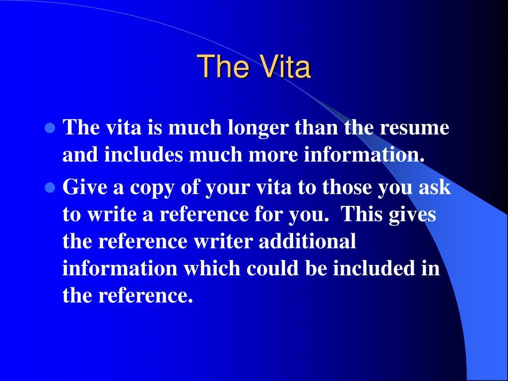 The Vita