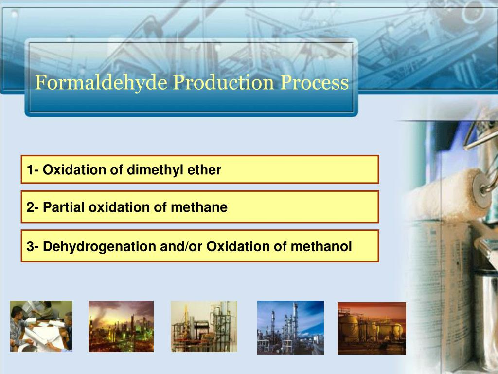 Formaldehyde Production Process