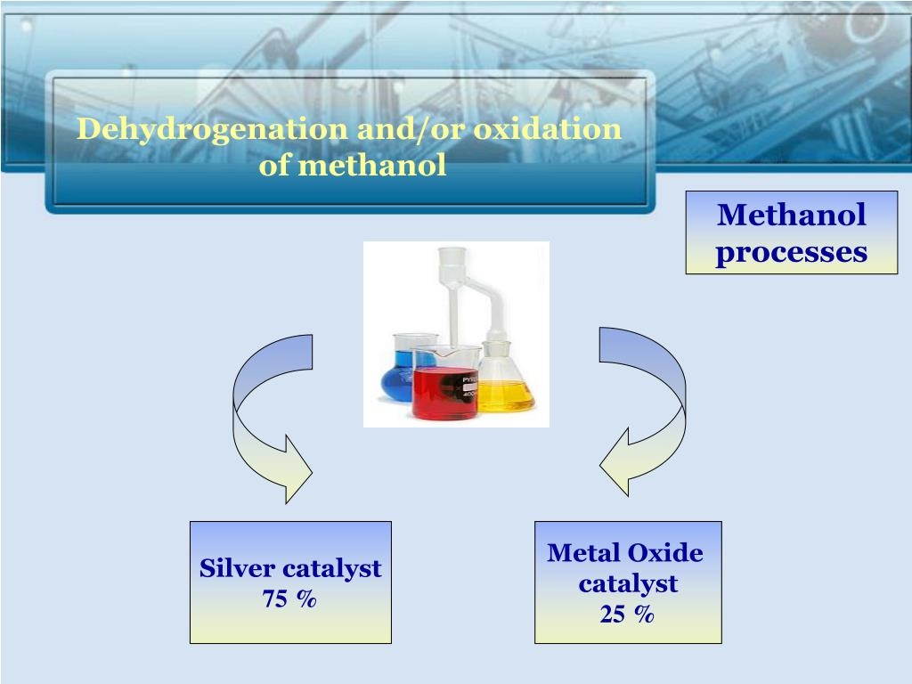 Dehydrogenation and/or oxidation