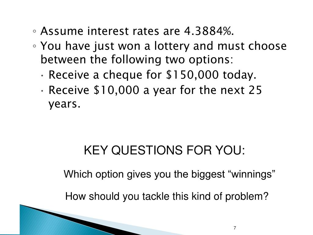 Assume interest rates are 4.3884%.