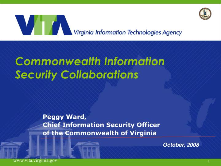 Commonwealth information security collaborations l.jpg