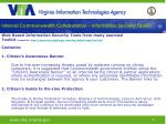 internal commonwealth collaboration information security toolkit