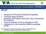 internal commonwealth collaboration isoag25