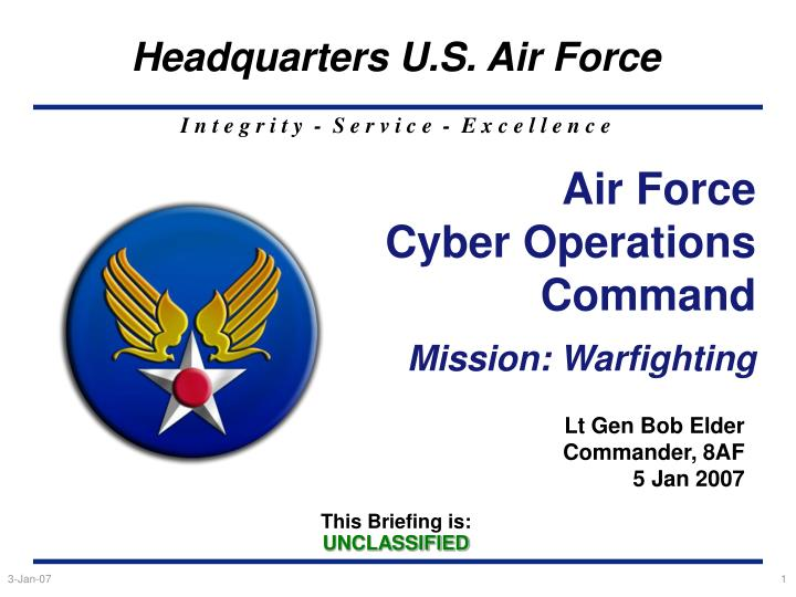 Air force cyber operations command mission warfighting l.jpg
