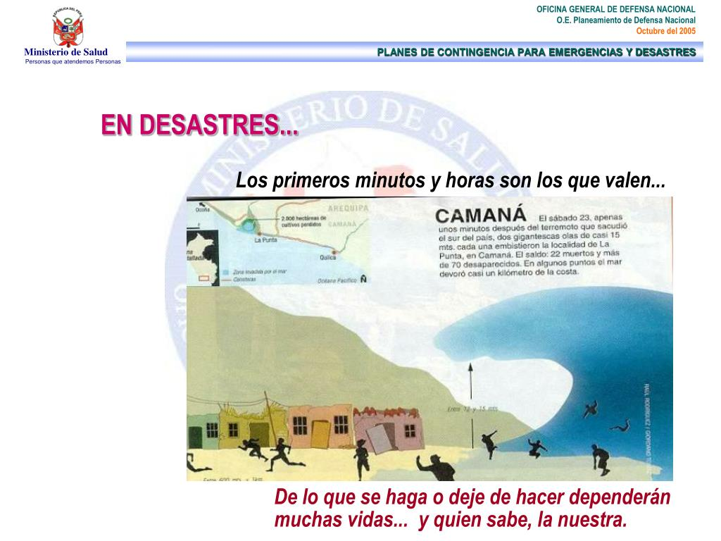 EN DESASTRES...