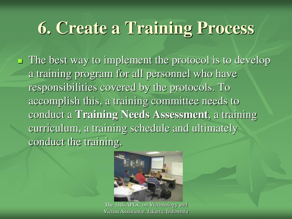 6. Create a Training Process