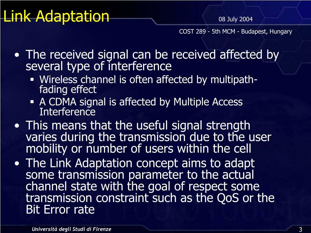 Link Adaptation